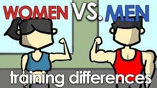 Women Vs Men | Train the Same Way?
