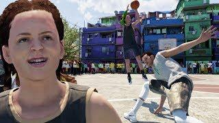 BREAKING ANKLES IN BRAZIL WITH FEMALE 3-POINT SHOOTER BUILD! NBA LIVE 19 DEMO GAMEPLAY Ep. 5