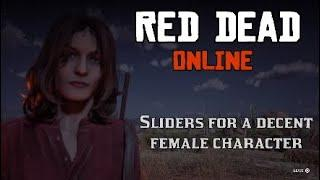 Red Dead Online - Female Character Creation Sliders for Red Dead Redemption 2 Custom Fashion Cowgirl