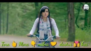 Tere Sang Yaara  Female Version | Whatsapp Status Video |  Aakanksha Sharma Version | Chandel Sahab