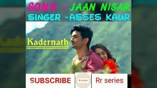 Jaan Nisar(female) Song | kedarnath Movie | Asses kaur || Rr series