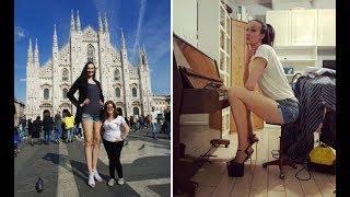 Jaago Lahore - Part 01 - World's Tallest Russian Female Model