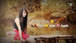 Who cares reply || DJ Goddess || Whatsapp status video Female version who care status 2019
