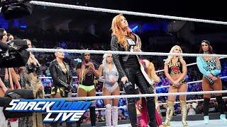 Becky Lynch chooses her replacement to face Ronda Rousey: SmackDown LIVE, Nov. 13, 2018