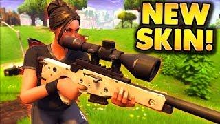 NEW BEST FEMALE SOCCER SKIN WIN in FORTNITE!