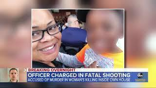 Officer who fatally shot woman at home arrested l ABC News