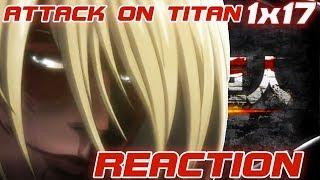 ATTACK ON TITAN S01E17 Female Titan - The 57th Expedition: Part 1 Reaction