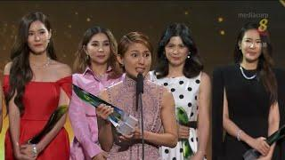 Star Awards 2019 - Top 10 Female - Lina Ng