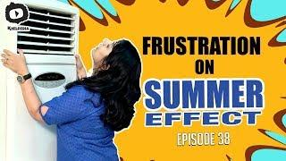 Frustrated Woman FRUSTRATION on Summer | Frustrated Woman Telugu Web Series | Sunaina | Khelpedia