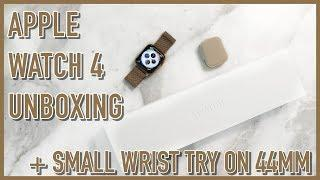 Apple Watch Series 4 Unboxing   44mm Gold Fit on a Small Wrist