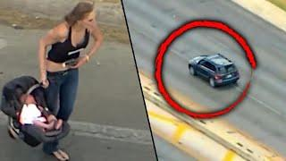 Woman With Baby in Car Leads Texas Police on High-Speed Chase
