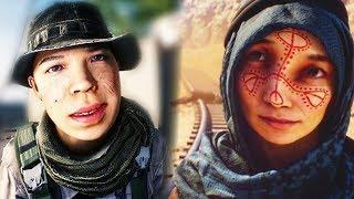 The Women of Battlefield... (Females in Battlefield Games)