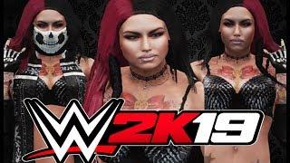 WWE 2K19 | Megan Star Female CAW [Signatures & Finishers Included]