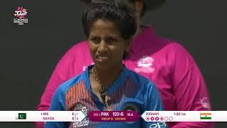 India v Pakistan - Women's World T20 2018 highlights