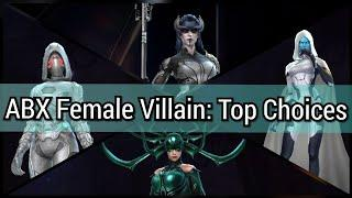 Female Villain Day Alliance Battle Top Choices | ABX - Marvel Future Fight