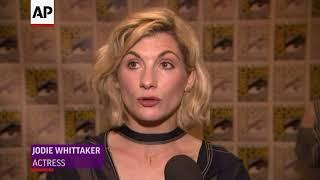 "Jodie Whittaker hits Comic-Con as ""Doctor Who"""