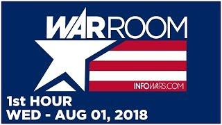 WAR ROOM (1st HOUR) Wed - 8/1/18 • Roger Stone, News, Headlines & Analysis • Alex Jones Infowars