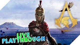 Assassins Creed Odyssey Livestream 04 1080p 60fps | HAPPY NEW YEARS EVERYONE!!