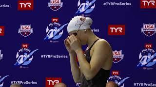 Women's 200m Breast A Final | 2019 TYR Pro Swim Series - Bloomington