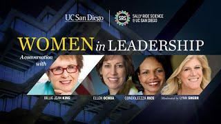 Women in Leadership Presented by Sally Ride Science at UC San Diego