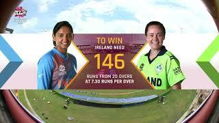 India v Ireland - Women's World T20 2018 highlights