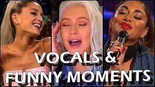 Female Singers: GREATEST VOCALS during FUNNY MOMENTS (Beyoncé, Mariah, Syleena, Tori Kelly etc.)