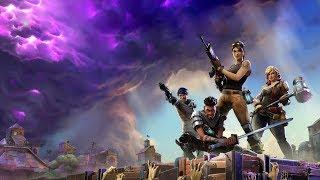FEMALE FORTNITE PLAYER LANDS IN TILTED | CAN WE MAKE IT OUT? |