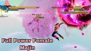 When You Make A Female Majin Go All Out!