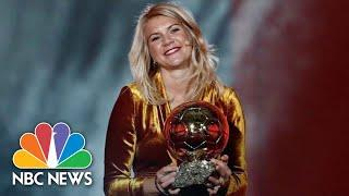 Soccer Star Is Asked About Twerking After Being Named World's Best Female Player | NBC News