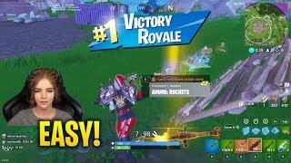 Loeya Shows You Why Female Can Play Fortnite | Fortnite Funny & Troll Moments