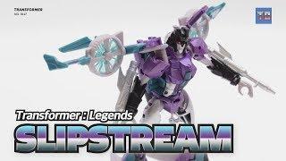 Female Transformer (5) : Transformer LEGENDS SLIPSTREAM LG16 VTOL Robot Video Reivew!