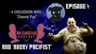 Tharries Podcast Episode 4   A Discussion with Channel Pup and Angry Pacifist.