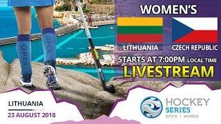 Lithuania v Czech Republic | 2018 Women's Hockey Series Open | FULL MATCH LIVESTREAM
