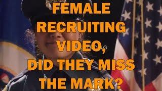Female Recruiting Video, Did They Miss The Mark? LEO Round Table episode 756