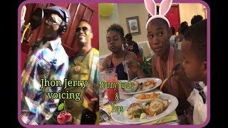 Marlon Samuels & Jhon cherry ???? in studio recording females feeling The Vibes| after Hunny Bunny p