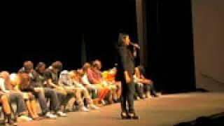 Hilarious Female Comedy Hypnotist Washington State High School Show
