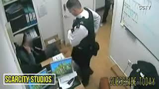 UK COP Punches Female 'Shoplifter'+ Chokes Her Out on Camera
