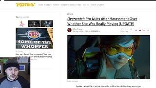 Overwatch Player Scandal, Female Gamer Was Really A DUDE
