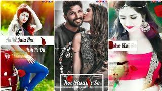 Female Version ???? New Romantic Full Screen Status Video ????