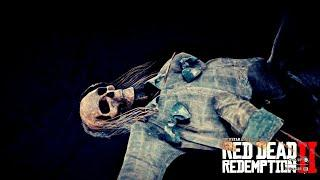 DEAD POSSESSED FEMALE (looted) Get Inside & HOW   Red Dead Redemption 2