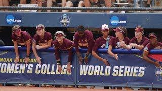 Highlights: Arizona State softball falls to Oklahoma in Women's College World Series
