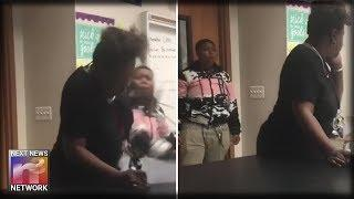 Unbelievable DISRESPECT! Student Caught on Video Punching Female Teacher in the Head
