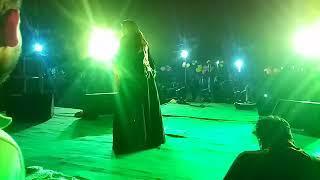 female singer nisha Upadhyay in nawada show