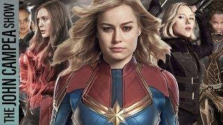 Marvel Says Many More Female Lead Announcements Coming - The John Campea Show