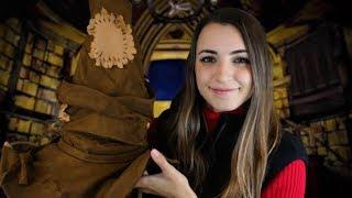 [START HERE] Hogwarts Sorting Ceremony! | ASMR Choose Your Own Adventure ~ {QUIZ IN DESCRIPTION}