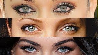Top 10 Most Beautiful Eyes Female Celebrities In The World 2019