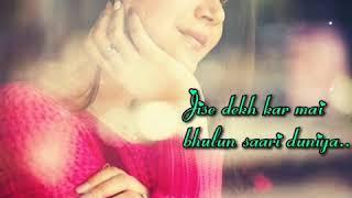 WhatsApp video status_ love song_ female version_ Aisa koi mujhko mil gya h _ by law of love