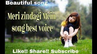 Meri zindagi Mein __Female Cover song __by Ak songs