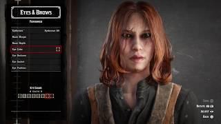 Red Dead Online Good Looking Female Character Karen Gillan