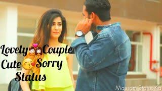 Bohut Pyar Karte Hain || Female Version || Cute Sorry || WhatsApp Status Video